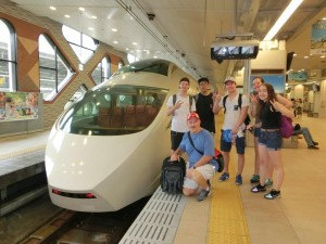 2016 Alongside the famous Bullet Train
