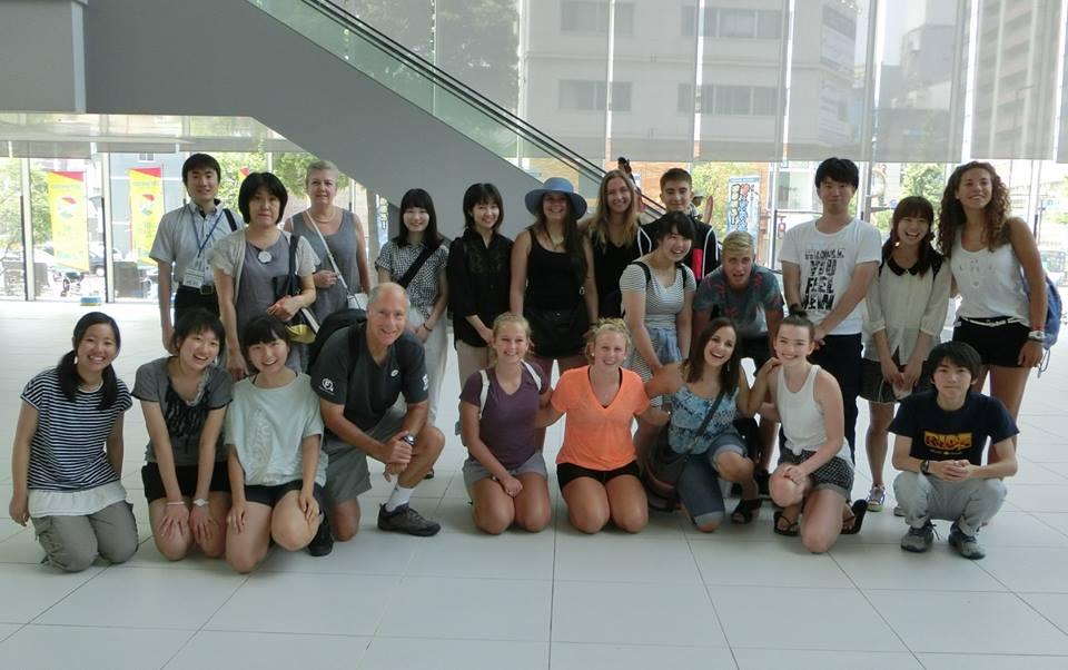 Our 2015 Canadian Students were able to meet with the Swiss students also on Exchange with the City of Chiba 2015.